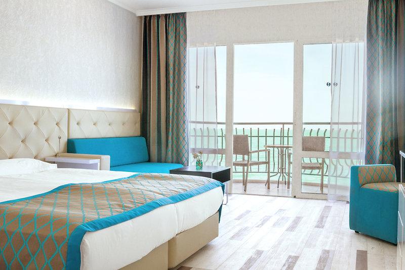 Hotelzimmer mit Yoga im SENTIDO Marea