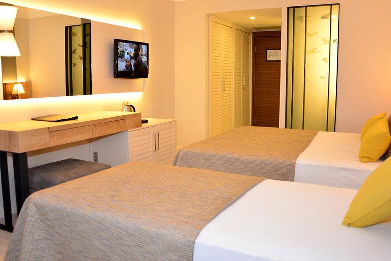 Hotelzimmer mit Tischtennis im Nova Park