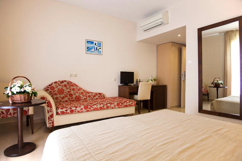 Hotelzimmer mit Tennis im Marilena Hotel