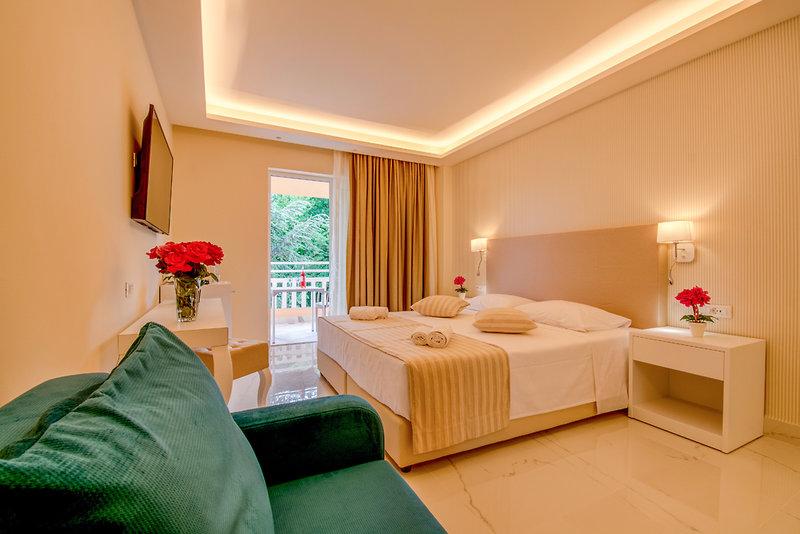 Hotelzimmer mit Volleyball im Hotel Ibiscus