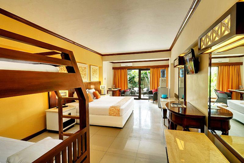 Hotelzimmer mit Golf im Bali Garden Beach Resort