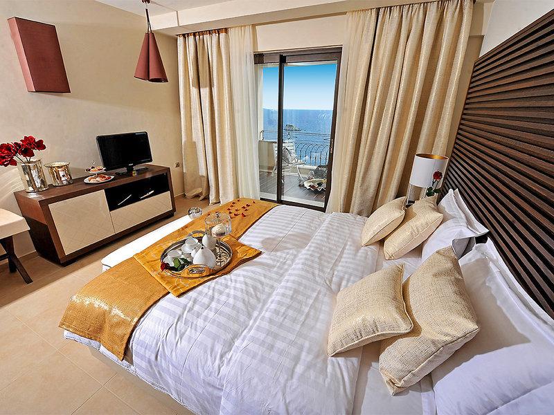 Hotelzimmer mit Fitness im Sivota Diamond Spa Resort