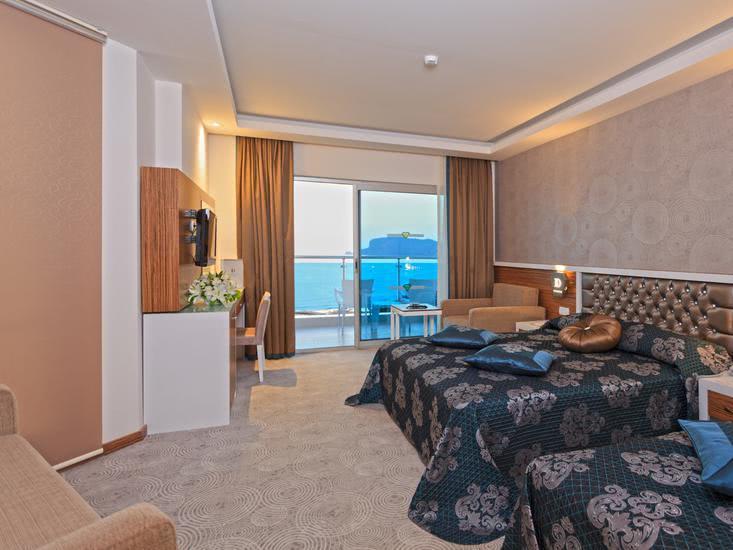 Hotelzimmer mit Volleyball im Diamond Hill Resort