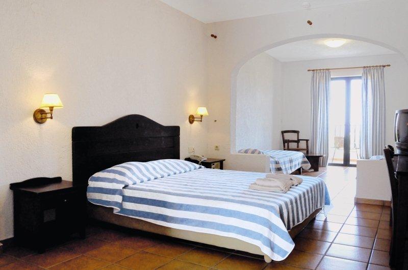 Hotelzimmer mit Minigolf im Hersonissos Village