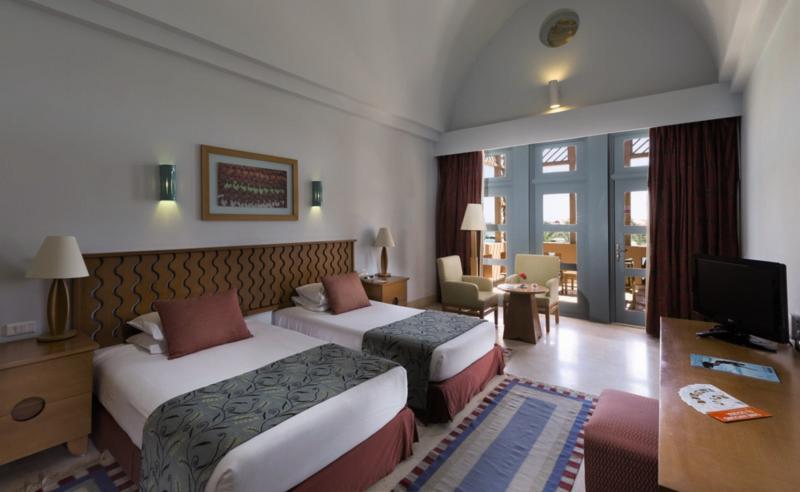 Hotelzimmer mit Golf im Steigenberger Golf Resort El Gouna