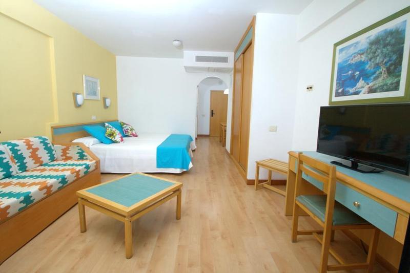 Hotelzimmer mit Golf im Aparthotel Green Field