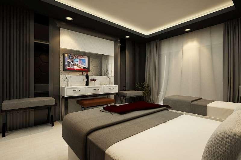 Hotelzimmer mit Volleyball im Dosinia Luxury Resort