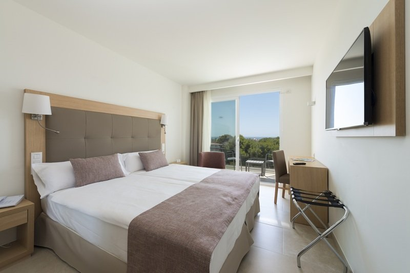 Hotelzimmer mit Golf im allsun Hotel Cristobal Colon