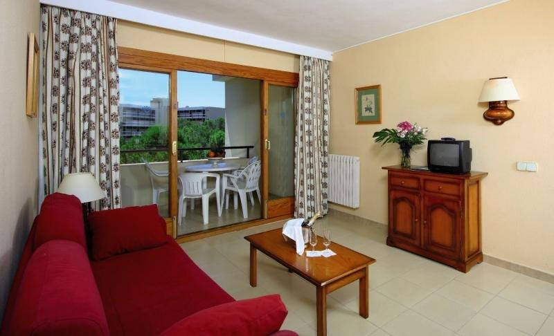 Hotelzimmer mit Tennis im Valentin Paguera Suites