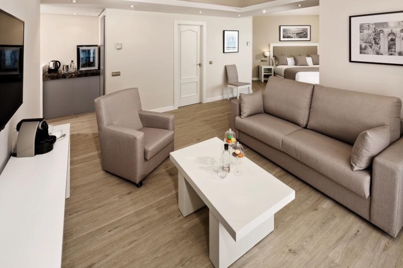 Hotelzimmer mit Golf im Meliá Costa del Sol