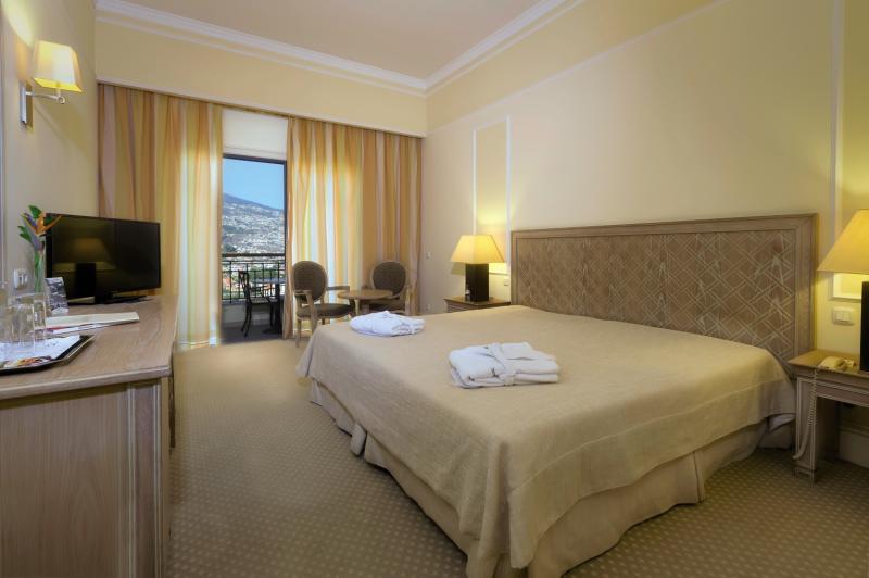 Hotelzimmer mit Minigolf im Quinta das Vistas Palace Gardens