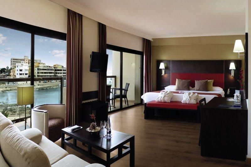 Hotelzimmer mit Fitness im AluaSoul Palma