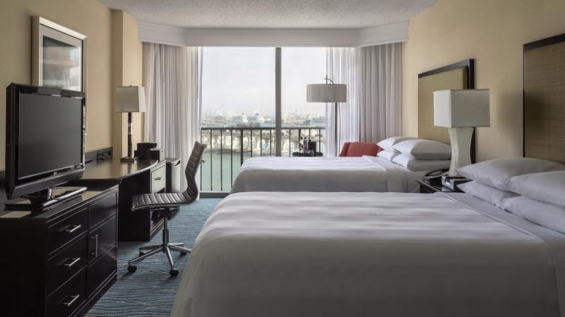 Hotelzimmer mit Kinderbetreuung im Miami Marriott Biscayne Bay