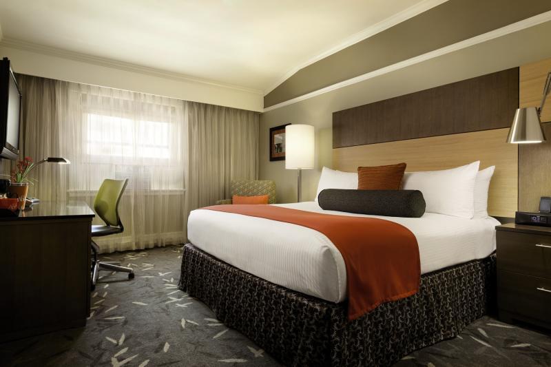 Hotelzimmer mit Golf im Hotel Abri