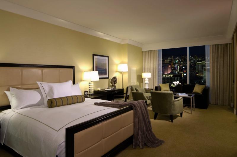 Hotelzimmer mit Kurhotel im Trump International Hotel Las Vegas