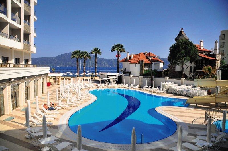 Golden Rock Beach Hotel in Türkische Ägäisregion - Bild von FTI Touristik