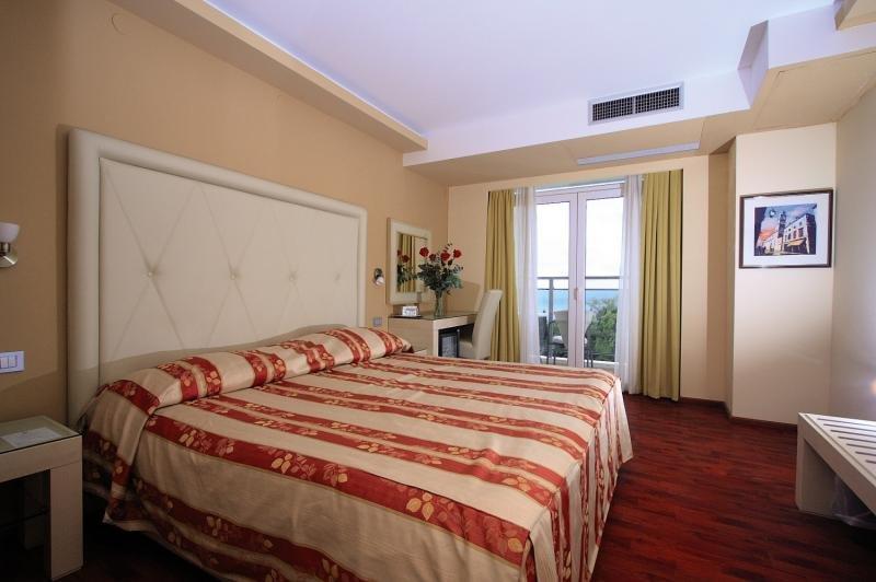 Hotelzimmer mit Tennis im Grand Hotel Park