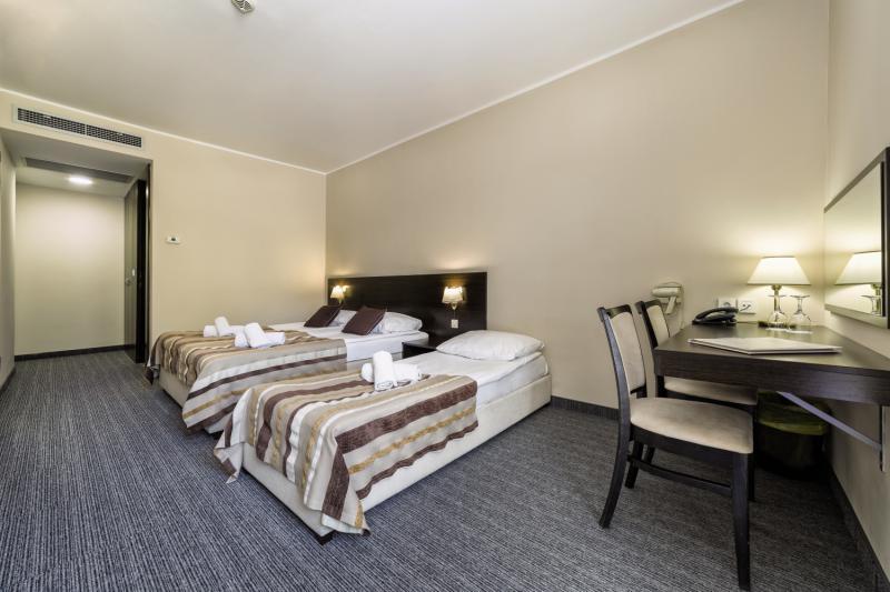 Hotelzimmer mit Volleyball im Punta Hotel & Annex Arausa