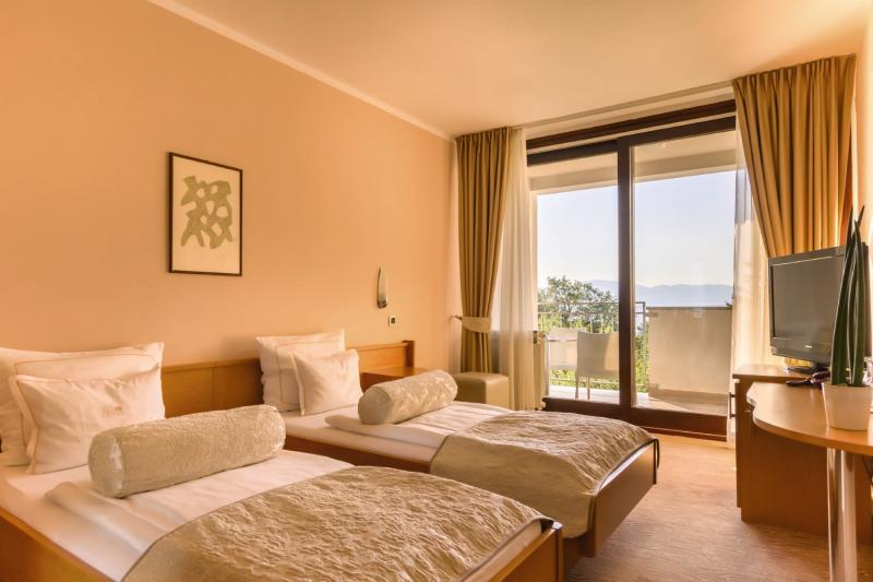 Hotelzimmer mit Fitness im Hotel Malin