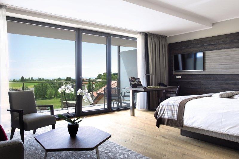Hotelzimmer mit Fitness im Alpenblick Bio- & Wellnesshotel