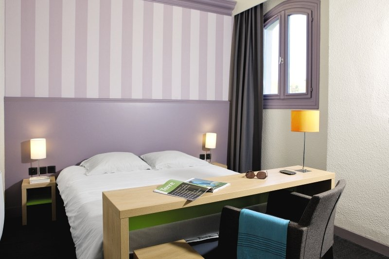 Hotelzimmer mit Tennis im Belambra Club Le Grand Hôtel de la Mer