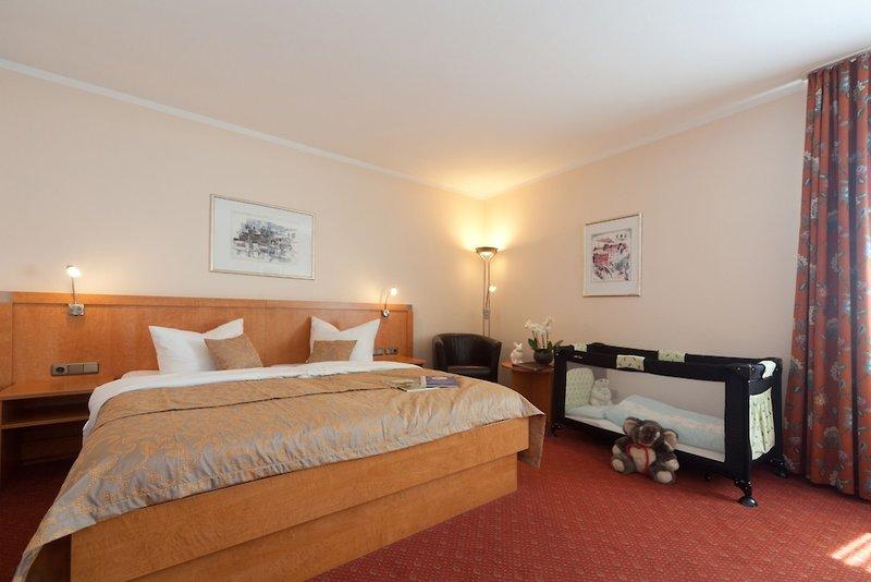 Hotelzimmer mit Sauna im Centro Hotel Weisser Hase