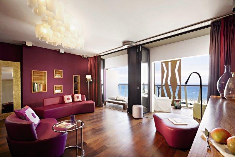 Hotelzimmer mit Fitness im Bohemia Suites & Spa