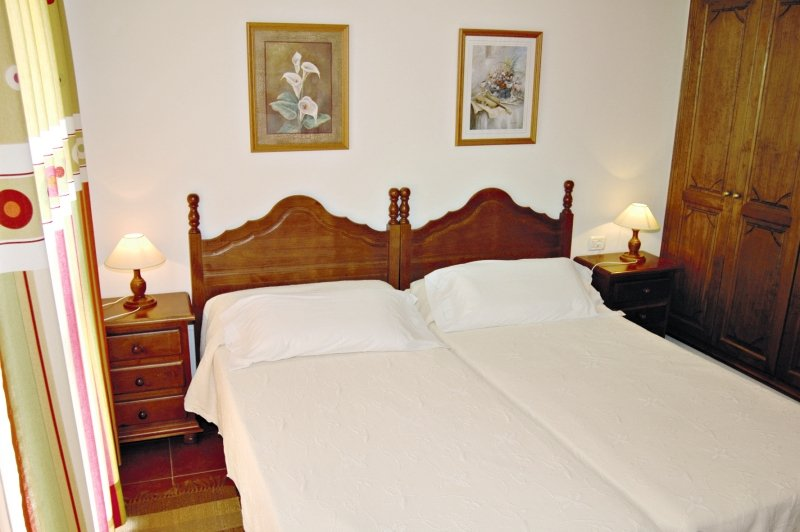 Hotelzimmer mit Restaurant im Viviendas Vacacionales Jardín La Punta