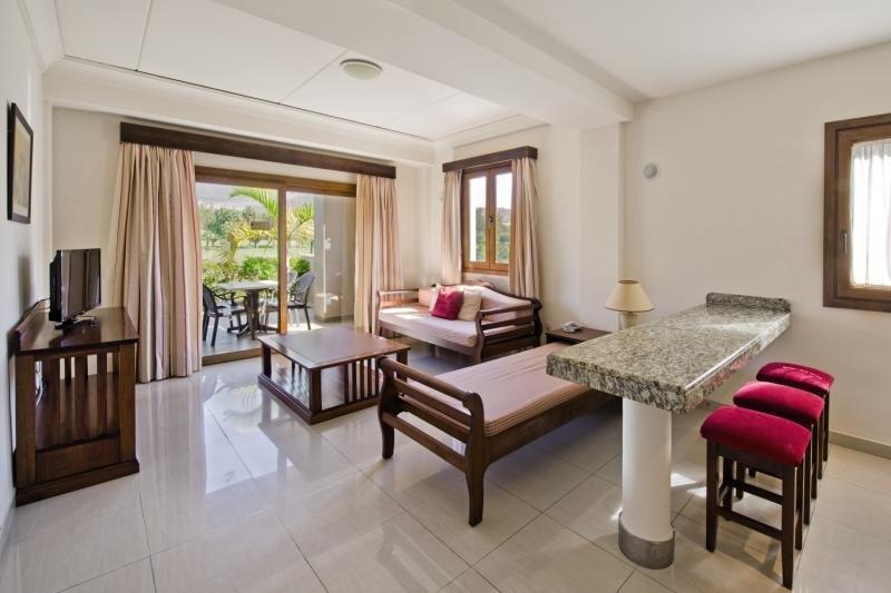 Hotelzimmer mit Golf im Marylanza Suites & Spa