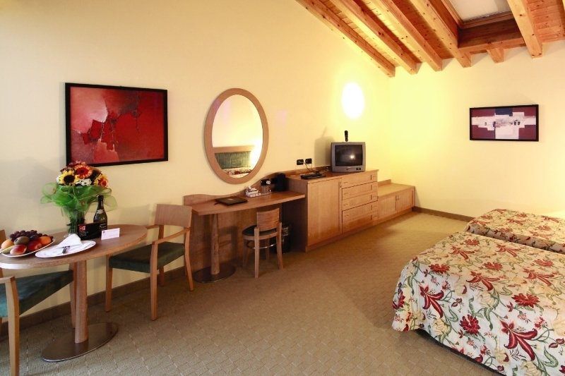 Hotelzimmer mit Volleyball im Parc Hotel