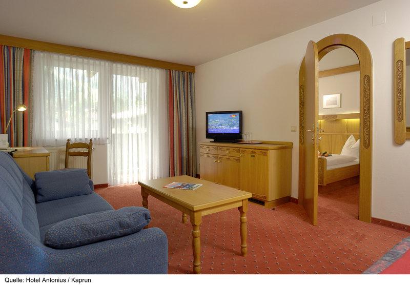 Hotelzimmer mit Tischtennis im Antonius