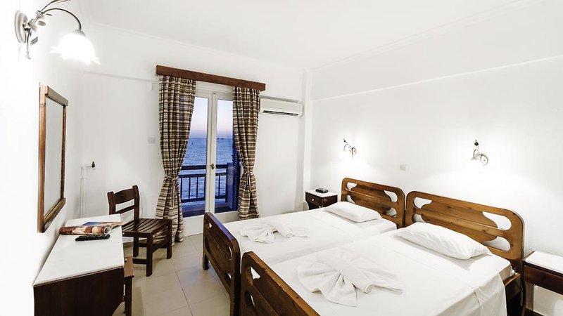 Hotelzimmer mit WLAN im Hotel Nikolas