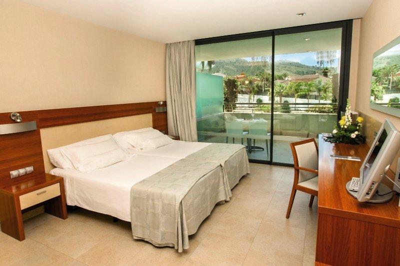 Hotelzimmer mit Fitness im Deloix Aqua Center