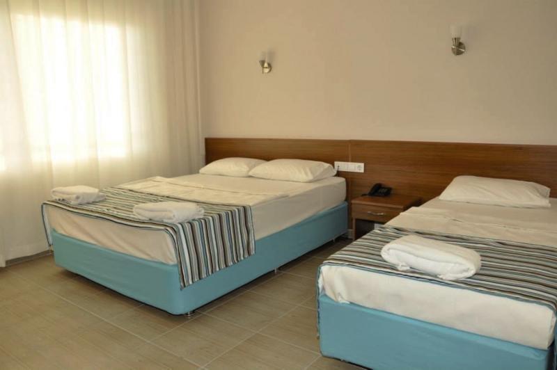 Hotelzimmer mit Wassersport im Ozcan Hotel