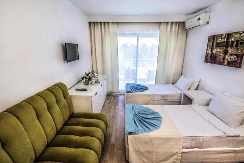 Hotelzimmer mit Minigolf im Serra Park