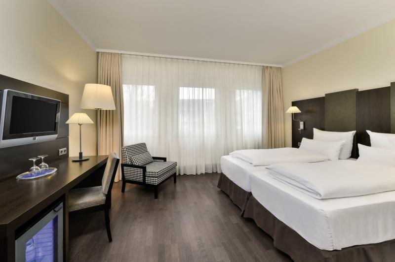 Hotelzimmer mit Sauna im NH Hotel München City Süd