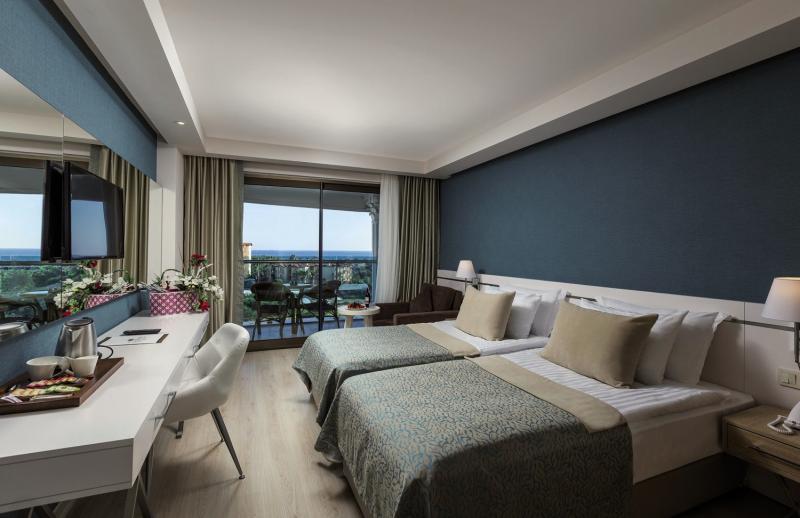 Hotelzimmer mit Volleyball im Side La Grande Resort & Spa