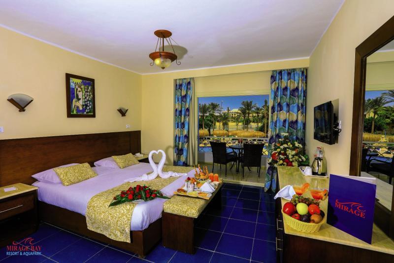 Hotelzimmer mit Volleyball im Mirage Bay Resort & Aquapark